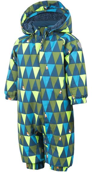 Color Kids Rimah Mini Kinderen groen/blauw